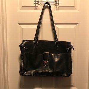Liz Claiborne Briefcase/Messenger Bag